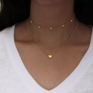 New Gold ❤️ Heart Necklace